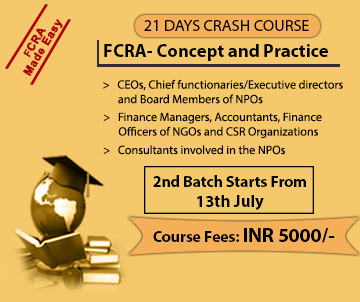 21 Days Crash Course on FCRA