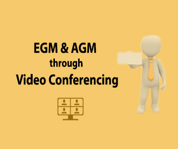 E-communique released on EGM and AGM on Video Conferencing