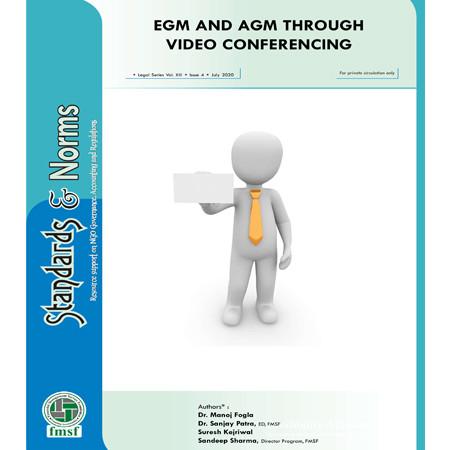 E-communique released on EGM & AGM through video conferencing