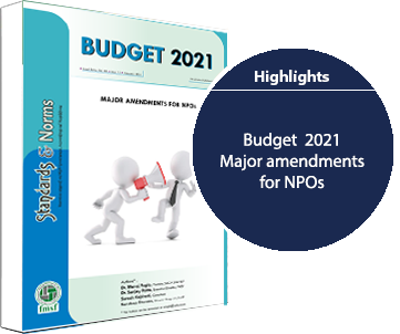 E-communique released on Major Amendments for NPOs in Budget 2021
