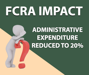 E-communique released on FCRA IMPACT – Administrative Expenditure