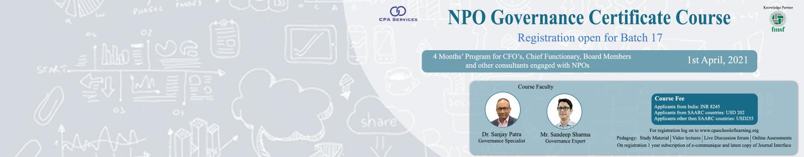 NPO Governance Program