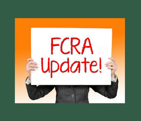 Notification regarding Extension of due date for Opening FCRA Account in SBI, NDMB Branch