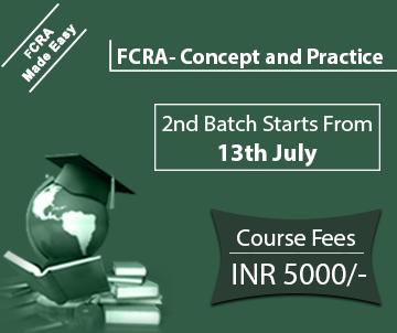 21 Days Crash Course on FCRA