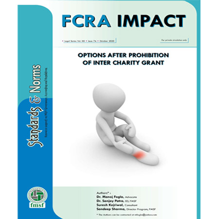 FCRA IMPACT - Options after Prohibition of Inter Charity Grant