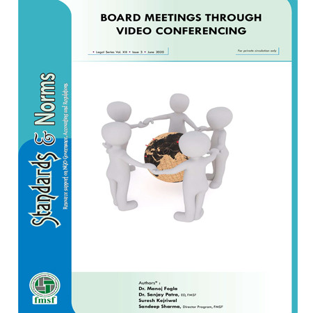Board Meetings through Video Conferencing