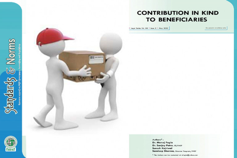 Contribution in Kind to Beneficiaries